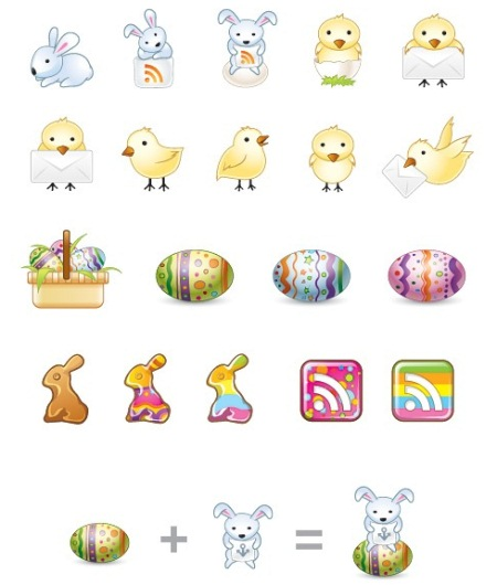 44 in 50 New Free High-Quality Icon Sets (with Easter Icons!)
