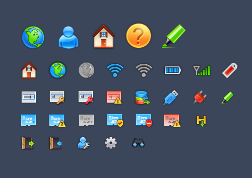 142 in 50 New Free High-Quality Icon Sets (with Easter Icons!)