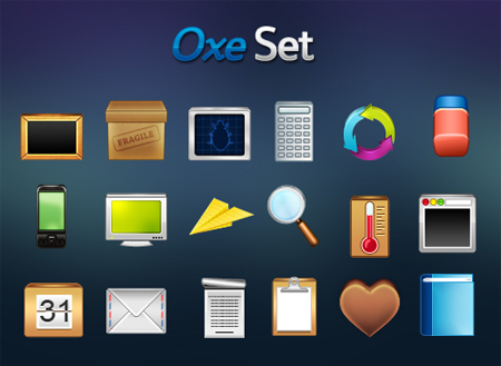 Oxeset in 50 New Free High-Quality Icon Sets (with Easter Icons!)
