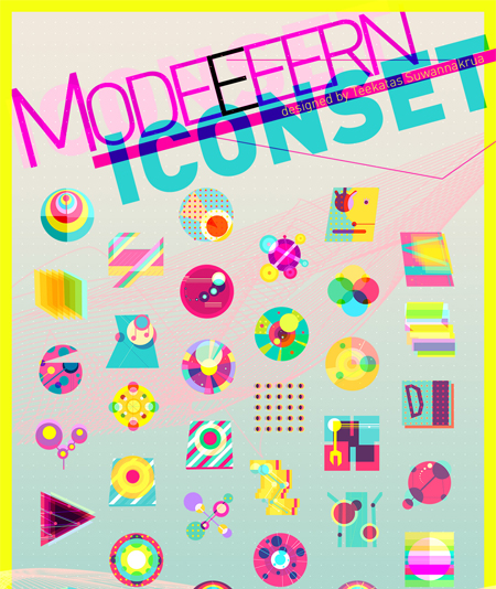 Modern in 50 New Free High-Quality Icon Sets (with Easter Icons!)
