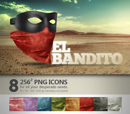 Bandito in 50 New Free High-Quality Icon Sets (with Easter