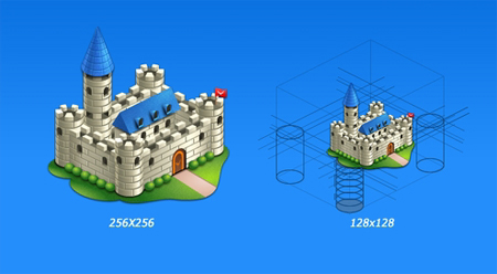 Castle in 50 New Free High-Quality Icon Sets (with Easter Icons!)