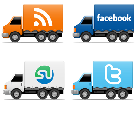 Truck in 50 New Free High-Quality Icon Sets (with Easter Icons!)