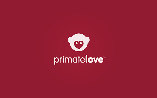 love monkey logo design