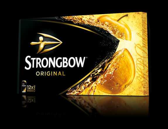 strongbow package 02 強弓(Strongbow)蘋果酒新品牌Logo及新包裝